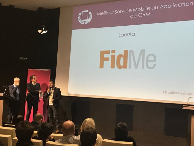 FidMe Meilleur Service Mobile ou Application de CRM