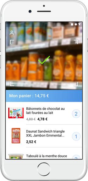 scan produit mobile paiement snapp