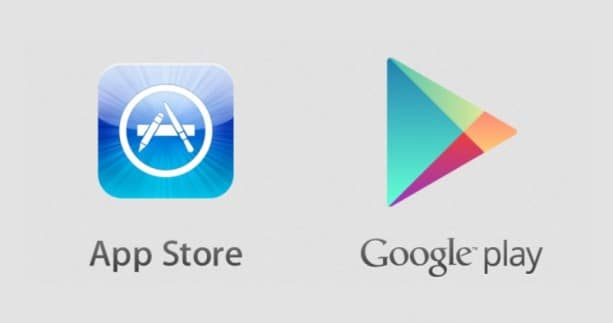 Google play store et app store